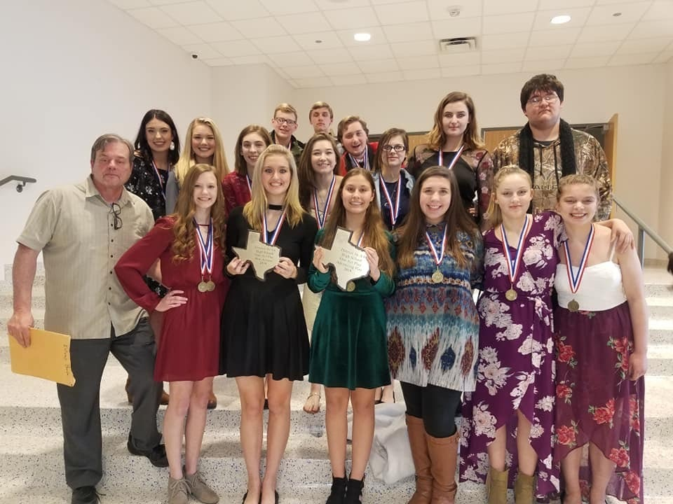 One-Act Play Advances to Bi-District