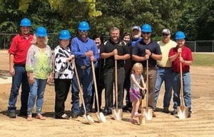 Ground-breaking for our new Elementary Playground
